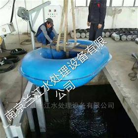 漂浮式潜水曝气机的选型与安装