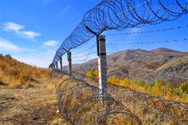 边境铁丝网围栏