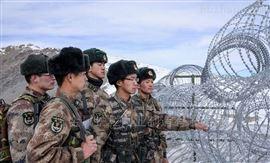 边境铁丝网封控设施