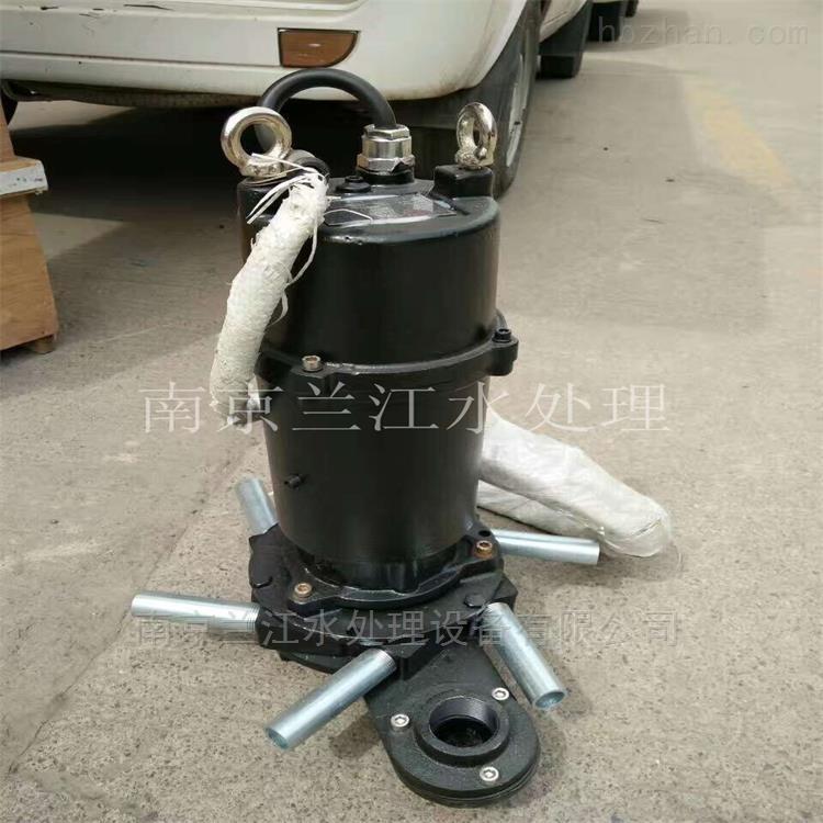 潜水离心式曝气机安装