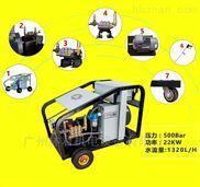 水泥罐車清洗專用工業級冷水高壓清洗機