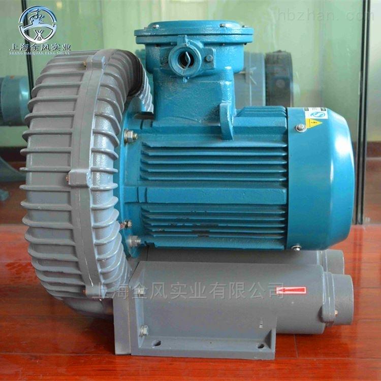 石油化工设备配套1.5KW高压防爆鼓风机
