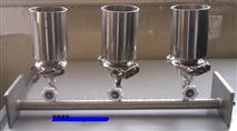 中西厂家三联全不锈钢溶液过滤器