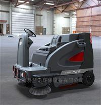 南宁电动扫地车厂区道路垃圾块清扫设备供应