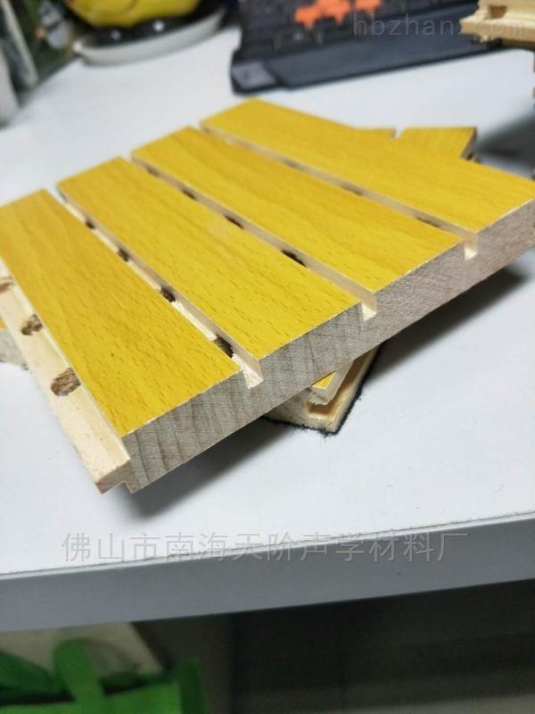 赣州环保实木吸音板生产厂家直销