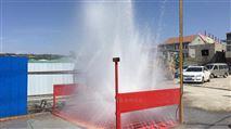 建筑工地环保洗车平台高压工程车洗轮机厂家