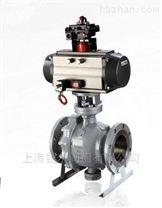 Q647F/H固定式氣動球閥,上海銳爾閥門廠