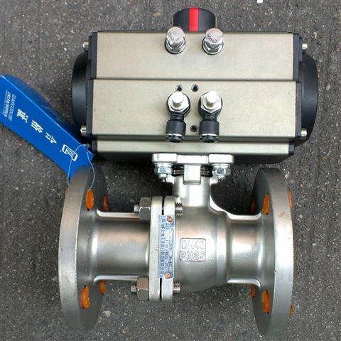 Q641F型气动切断O球阀