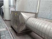 喷漆房废气处理效果