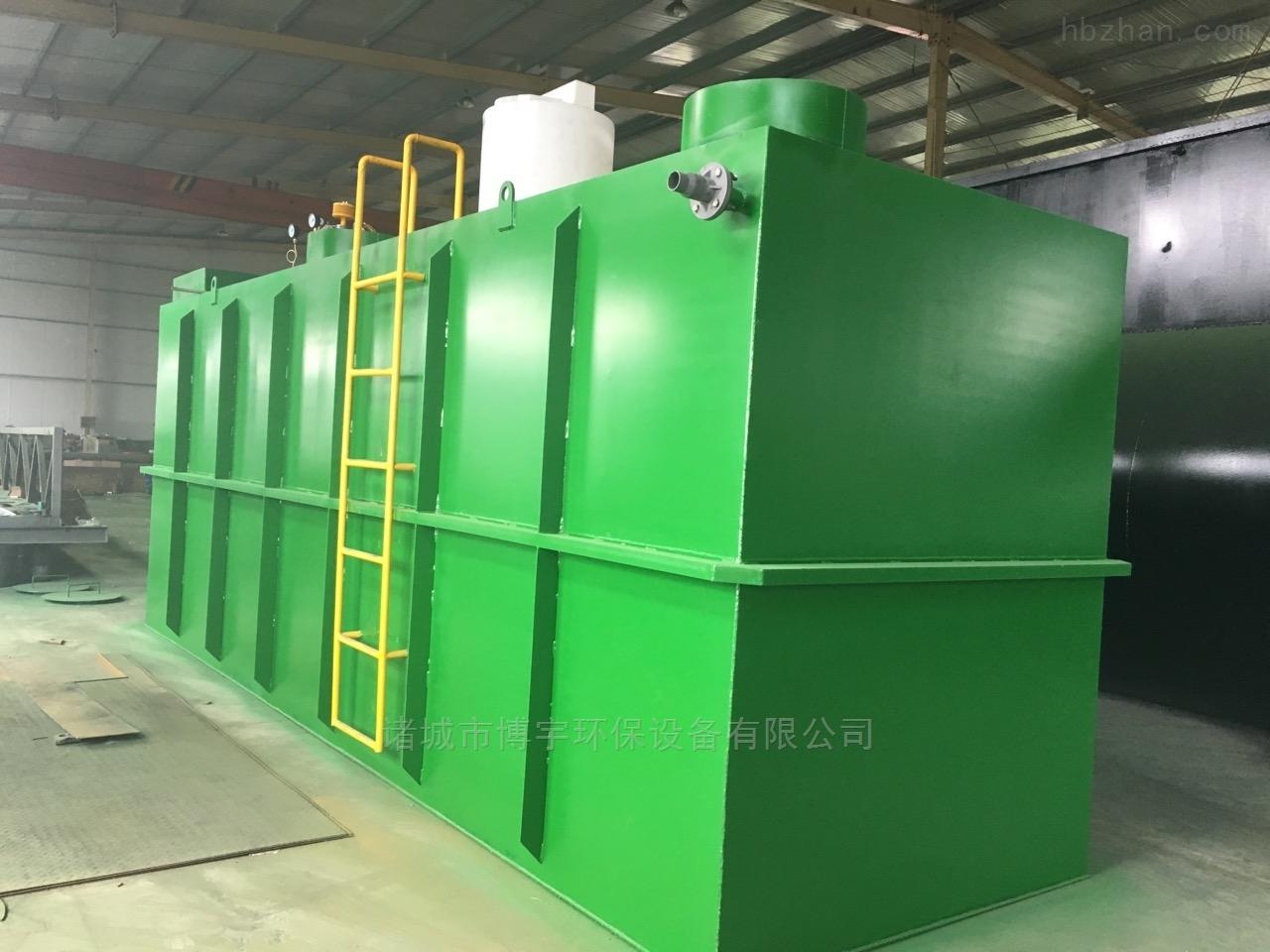地埋式污水处理设备工艺流程