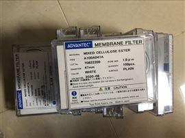 1um东洋ADVANTEC混合纤维素滤膜A100A047A