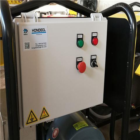 油井钻杆高压水清洗机
