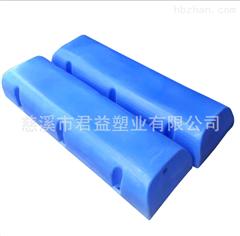 供应塑料清漂拦污浮筒 水上工程PE浮筒