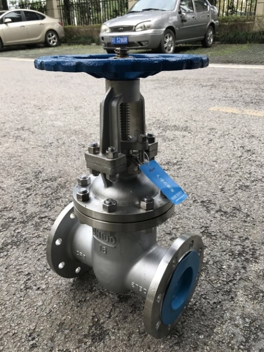 不锈钢304法兰闸阀蒸汽锅炉水油用