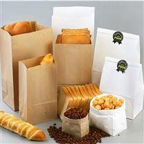 定制雷竞技官网手机版下载牛皮纸食品包装袋早餐西点打包袋