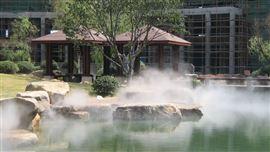 人工湖/湖泊/溪流造雾