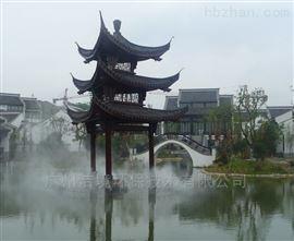 广西北海旅游景区度假村造雾