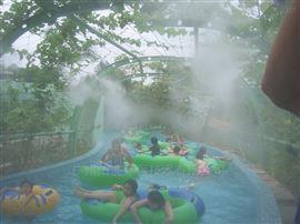 游乐园喷雾降温