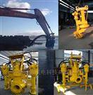 强劲动力液压搅吸泵 搅拌砂浆泵 挖机渣浆泵
