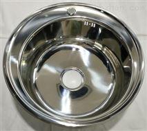 圆形不锈钢单盆水槽直径51厘米