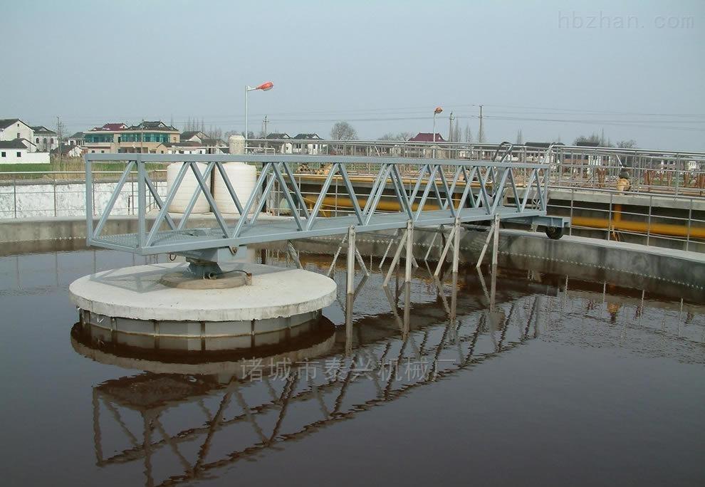 半桥式中心传动刮泥机 厂家直销