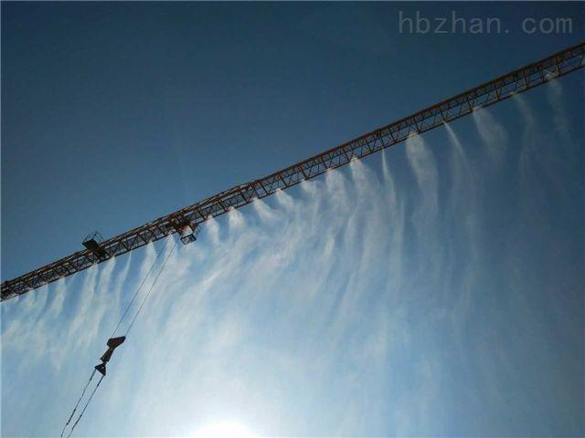 湖北江陵建筑工地围挡塔吊喷淋系统