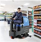 西安商场用驾驶式全自动洗地机