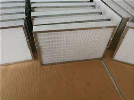 qk470*300*50污水处理厂鼓风机长方形板框滤芯 除尘滤芯