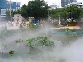 汕头水景人工湖造雾