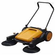 小区道路清扫车 凯德威手推式无动力扫地机