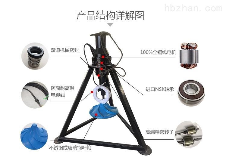 QSJ-500双曲面硝化池搅拌机