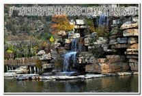 广州假山鱼池设计庭院鱼池假山制作价格实惠