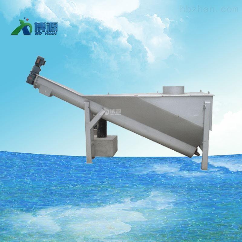 沉砂池不锈钢螺旋式砂水分离器