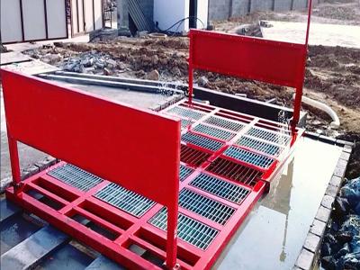 十堰建筑工地洗车机如何安置