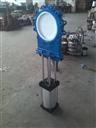 产品库 泵/阀/管件/水箱 阀门 陶瓷阀 pz673tc气动陶瓷插板阀图片