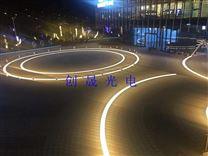 广场弧形灯带