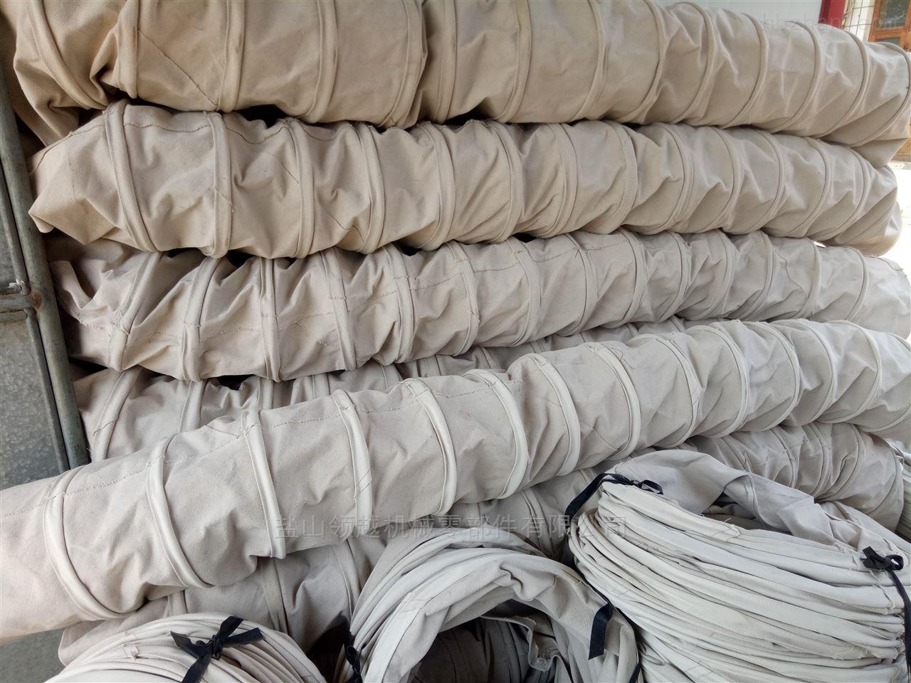300*2000水泥散装帆布伸缩布袋现货