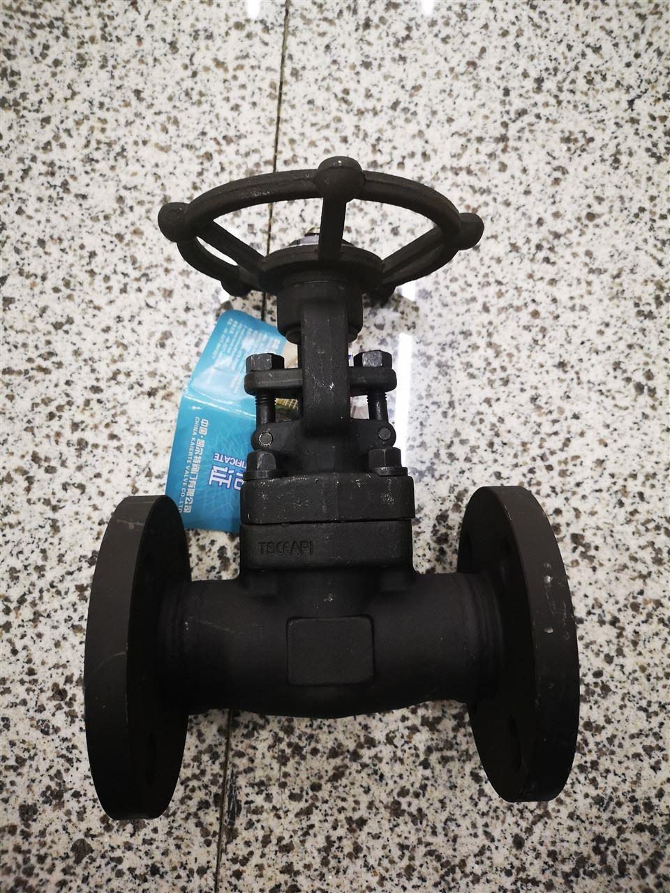 中国凯尔特黑皮锻钢闸阀