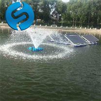 太阳能喷泉曝气机安装方法