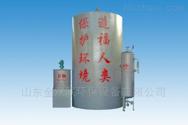 竖流式溶气气浮机结构