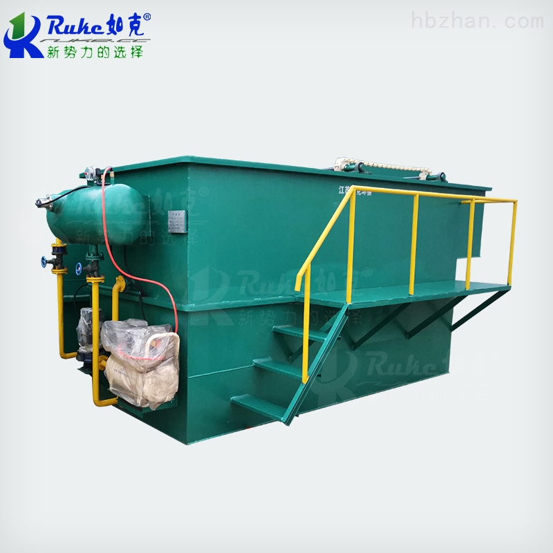 PRQ-10如克环保浅层平流式溶气气浮机污水处理