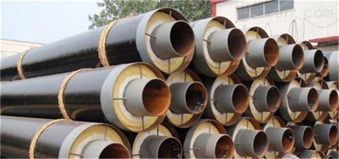 钢套钢直埋蒸汽保温管生产价格