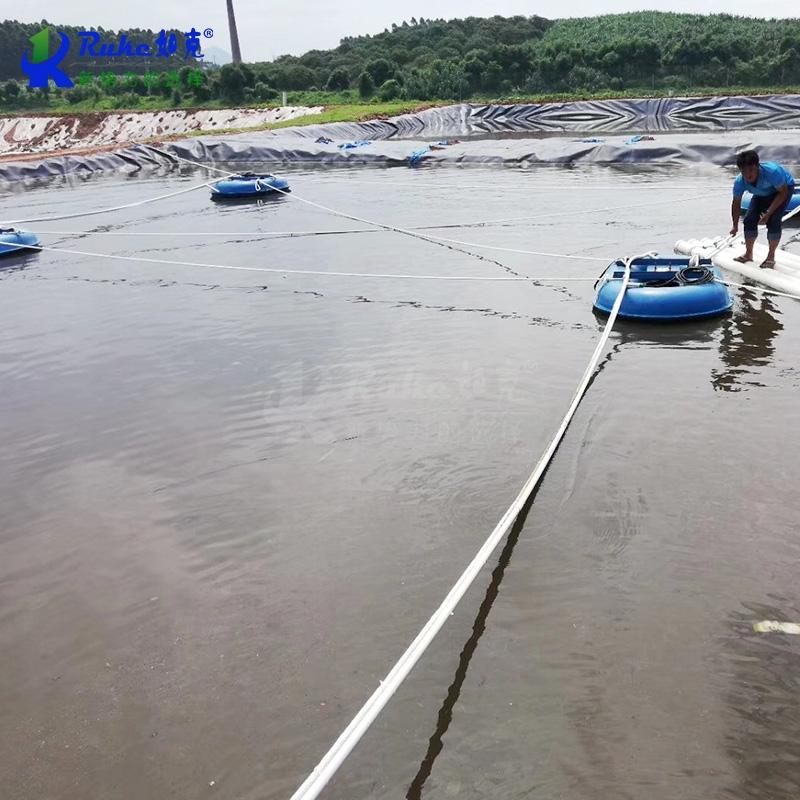 浮筒式水下曝气增氧机潜水浮动曝气设备