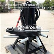 qxb型离心式潜水曝气机 污水增氧曝气器