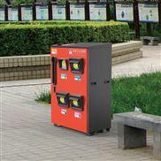 不锈钢板有害垃圾桶140升 垃圾分类收集箱