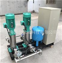 全自動給水設備采用不等容量恒速變頻泵