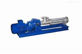 G型单螺杆高粘度泵