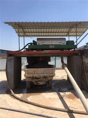 LWJ550打桩现场淤泥干化设备