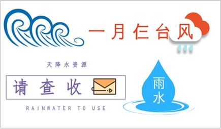 """一月仨台风""""布雨"""" 天降水资源都收好了吗?"""