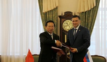 中俄环保分委会第十三次会议召开 李干杰率团出席